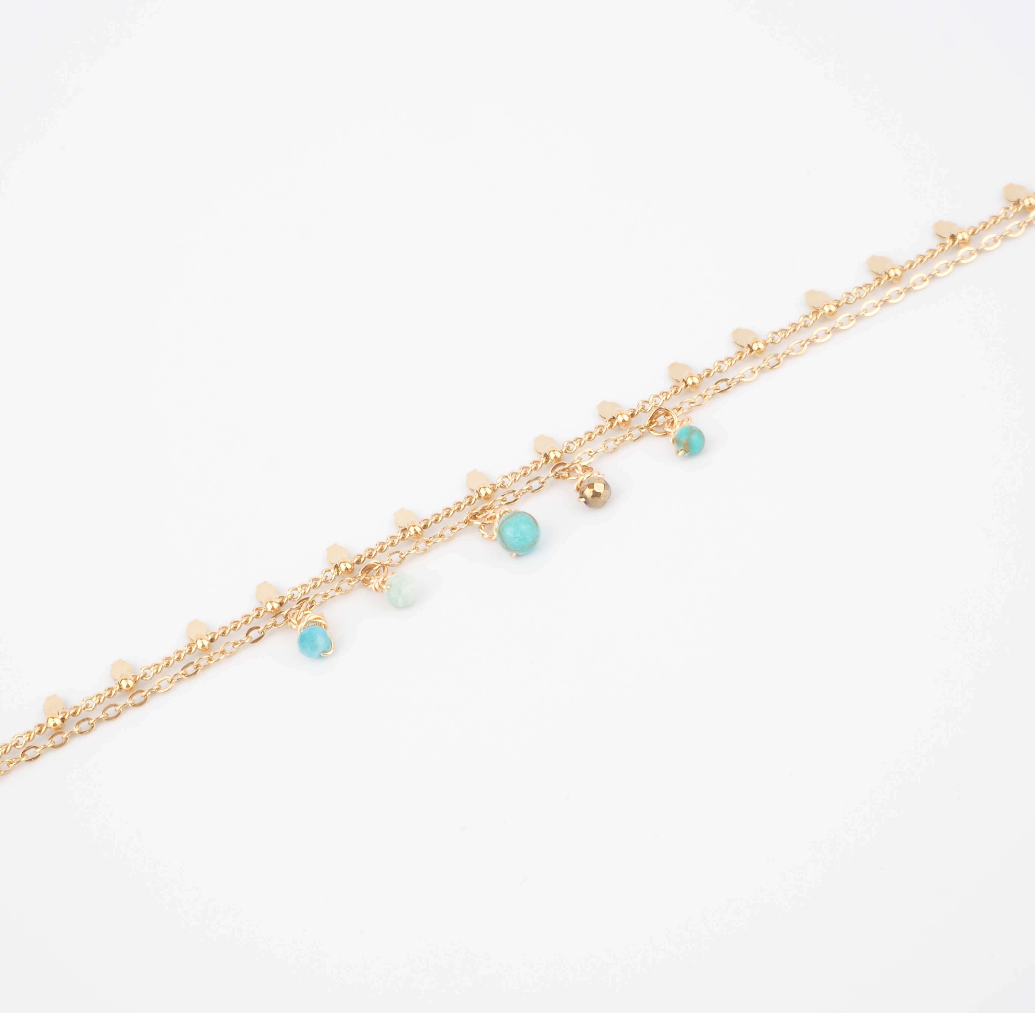 Bracelet Pearl en amazonite - ZAG Bijoux