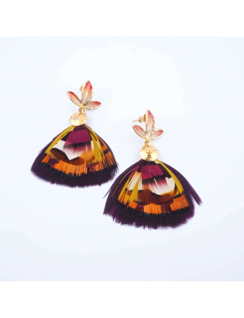 Boucles d'oreilles Bermudes...