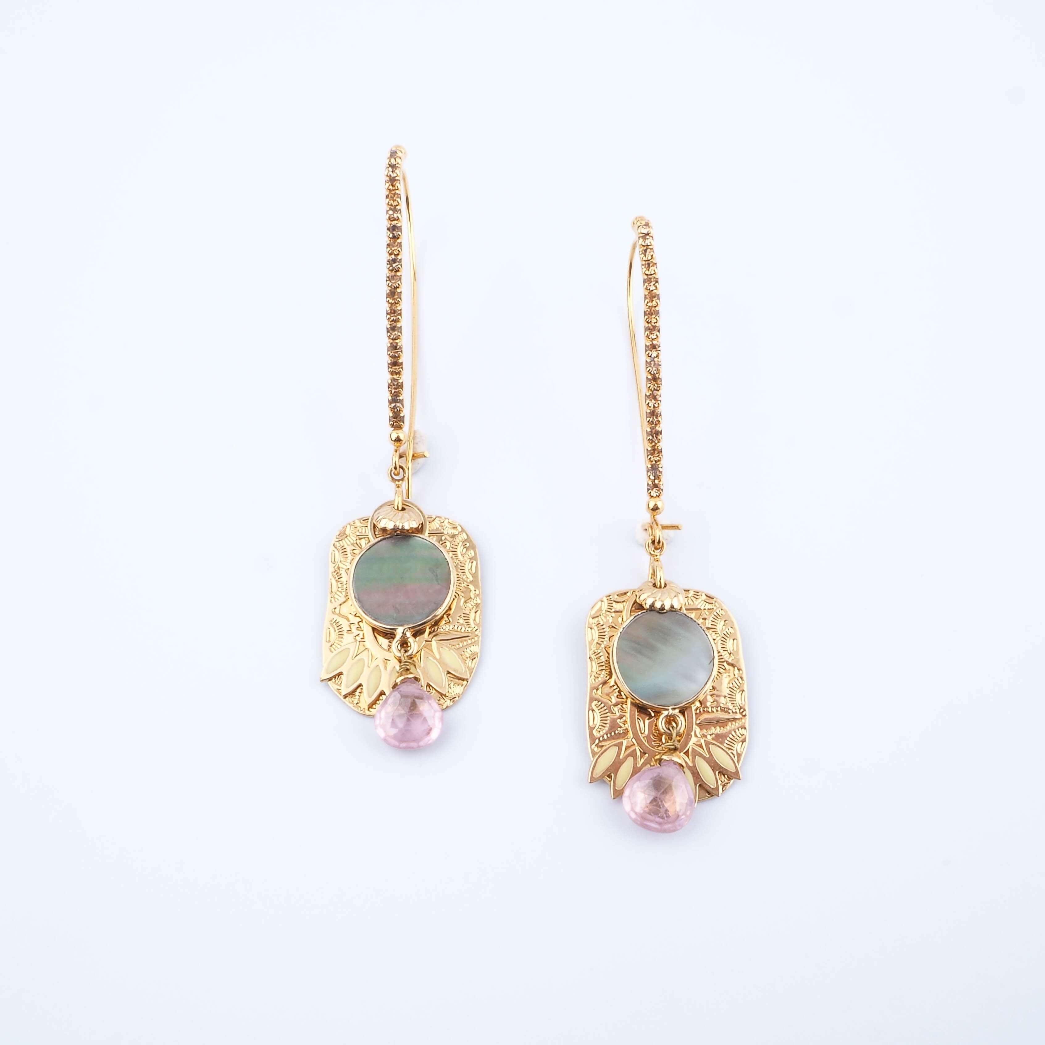 Boucles d'oreilles El Dorado - GAS Bijoux