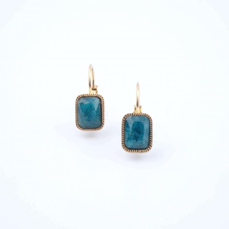 Lana earrings in blue...