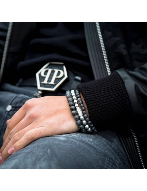 Bracelet Grey Seduction 8mm...