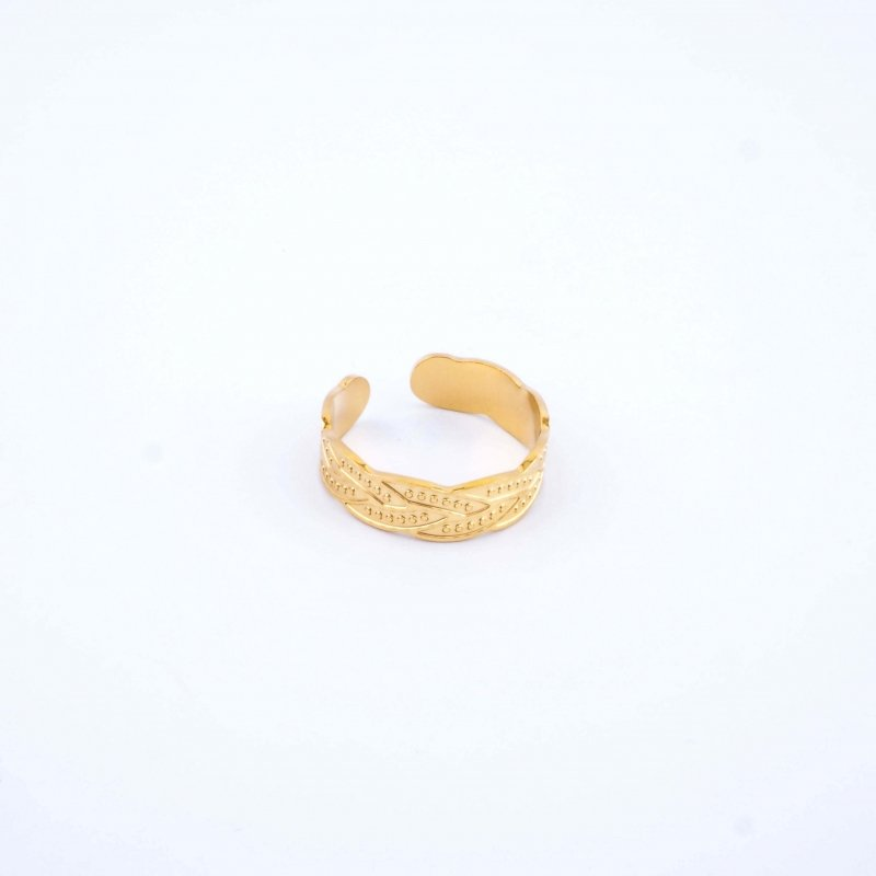 Izïa gold ring - Shyloh Paris