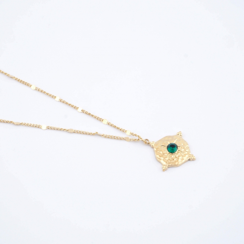 Green Loulita necklace -...