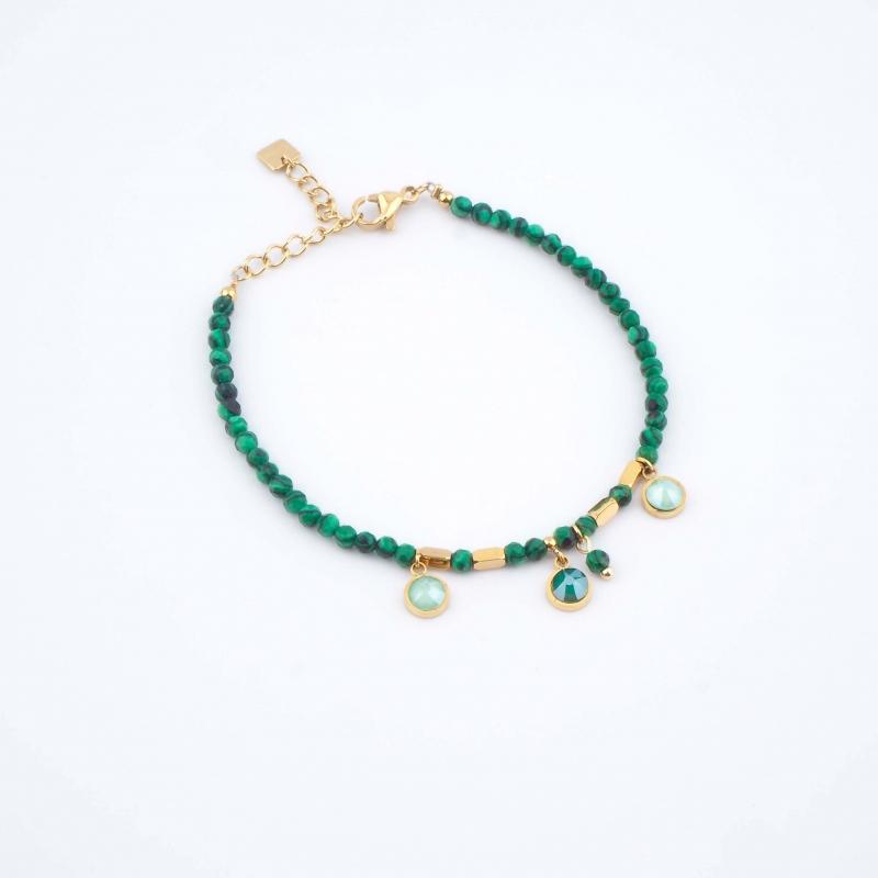 Bracelet Margaux vert -...