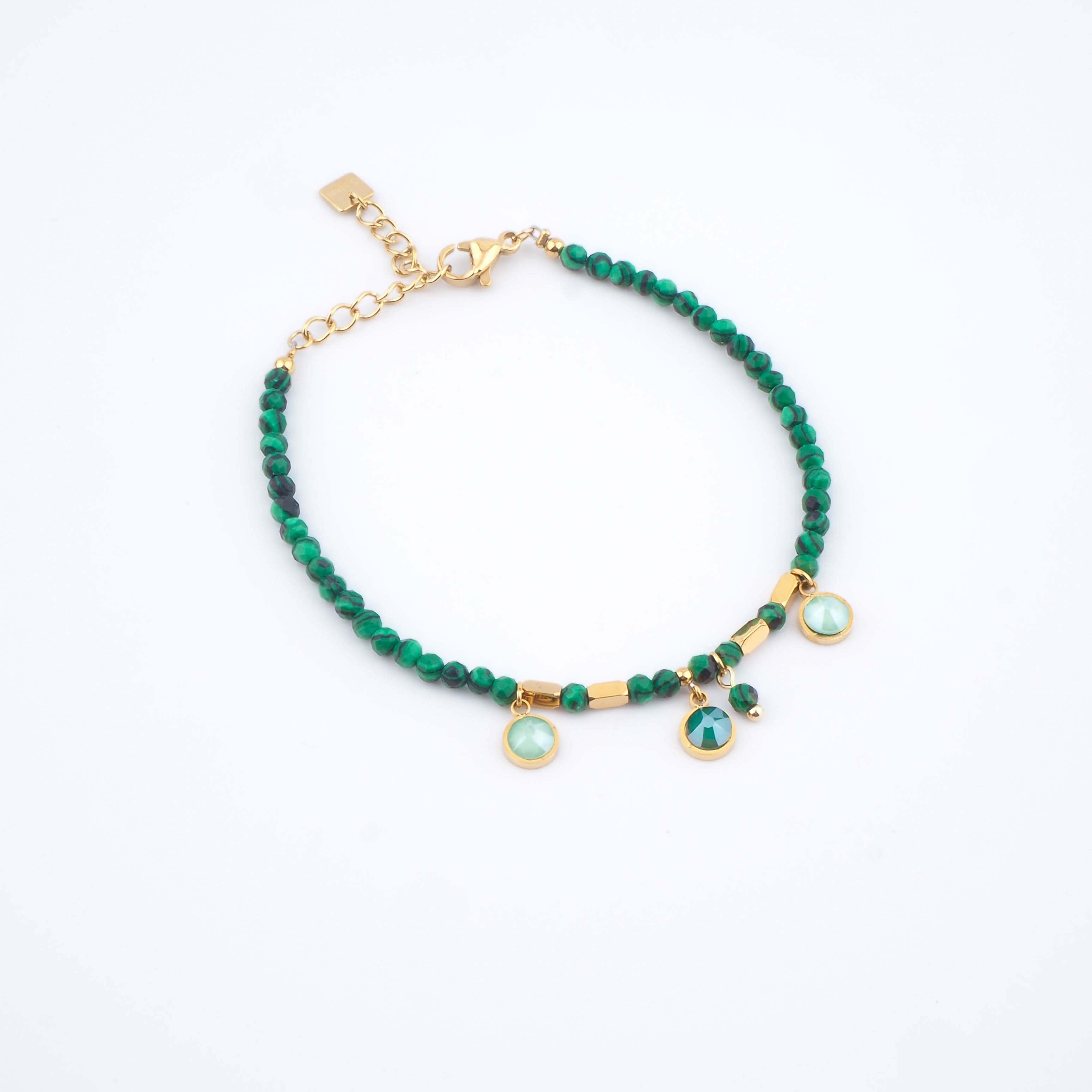 Bracelet Margaux vert - Bohm Paris