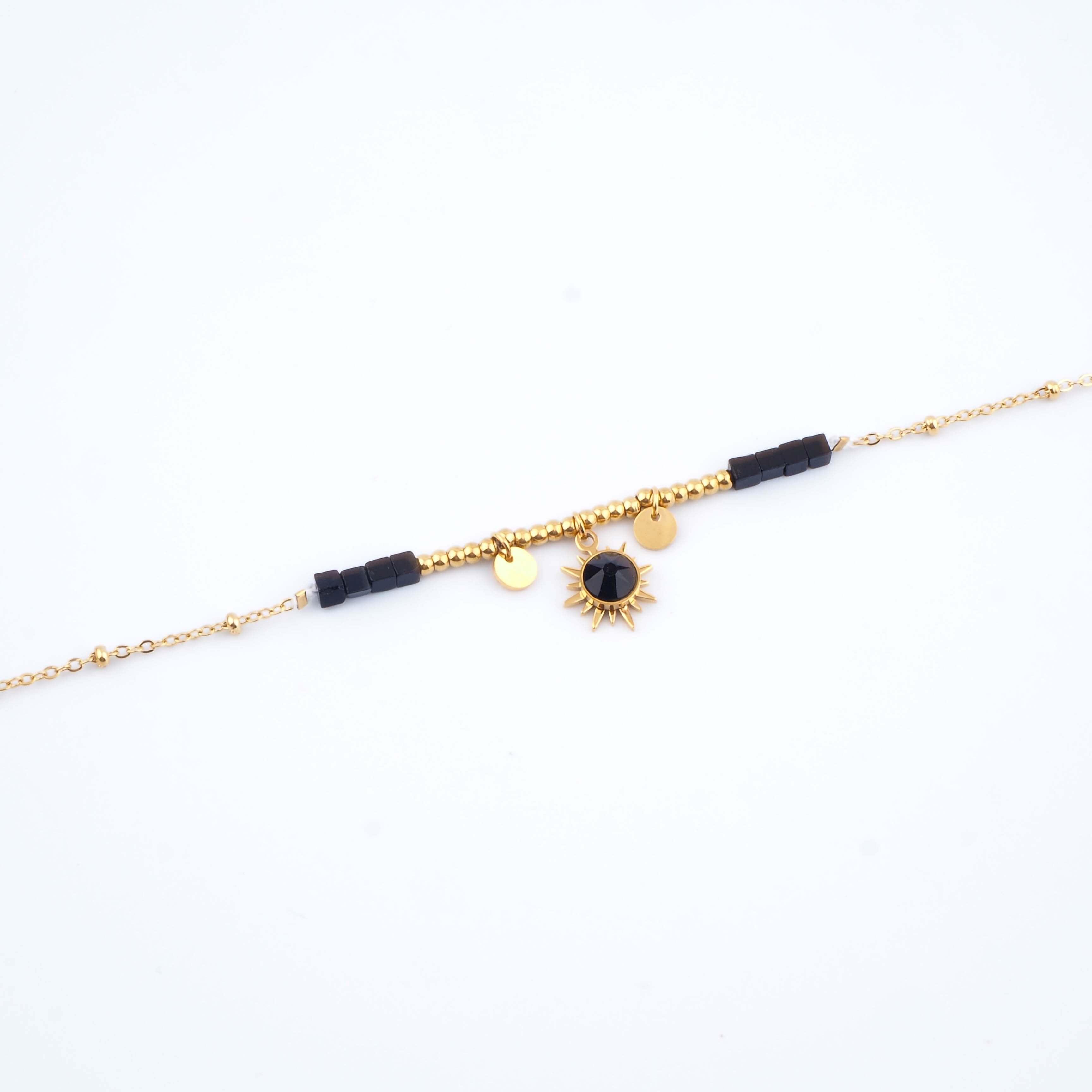 Bracelet Chloénis noir - Bohm Paris