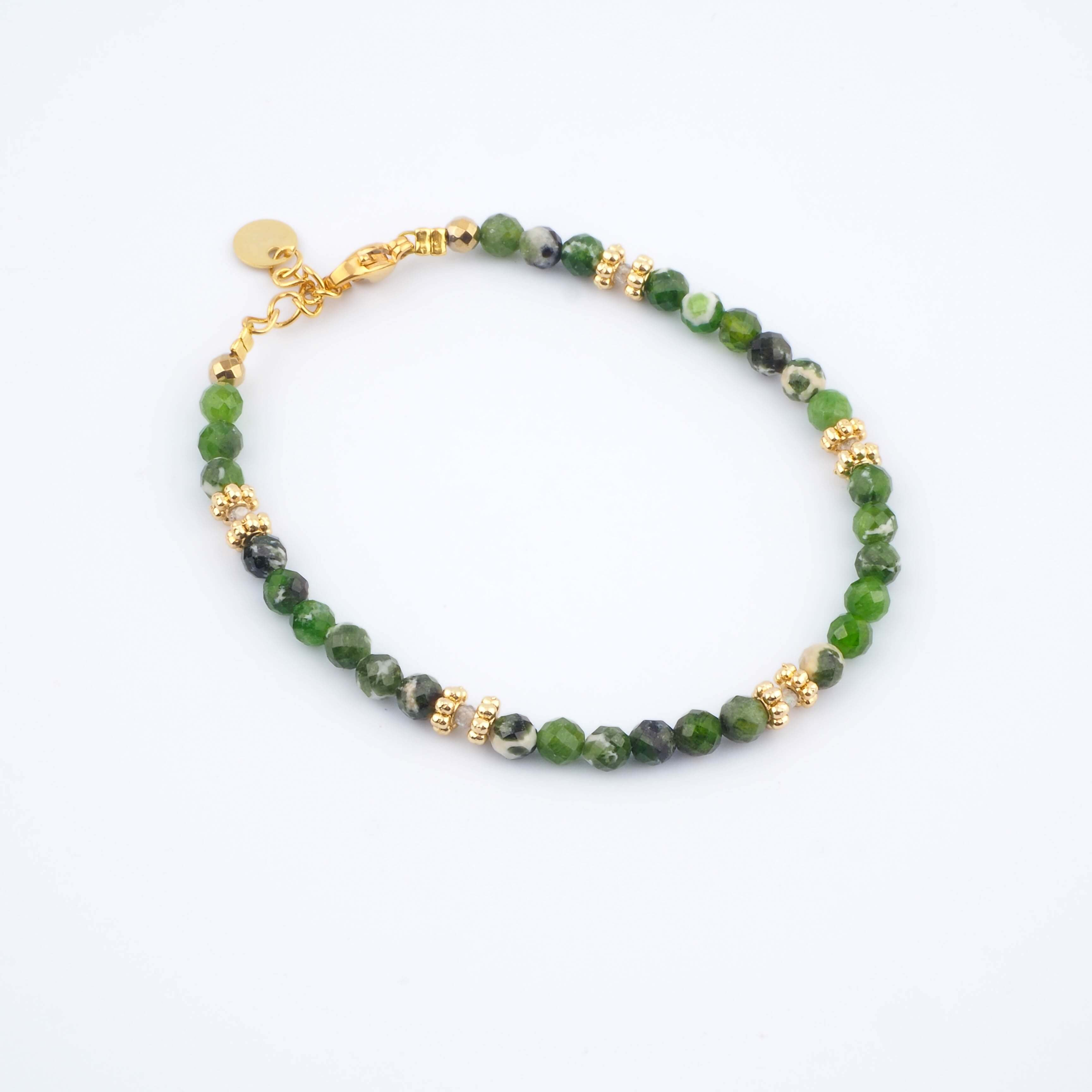 Bracelet Paola vert - Ginandger Bijoux