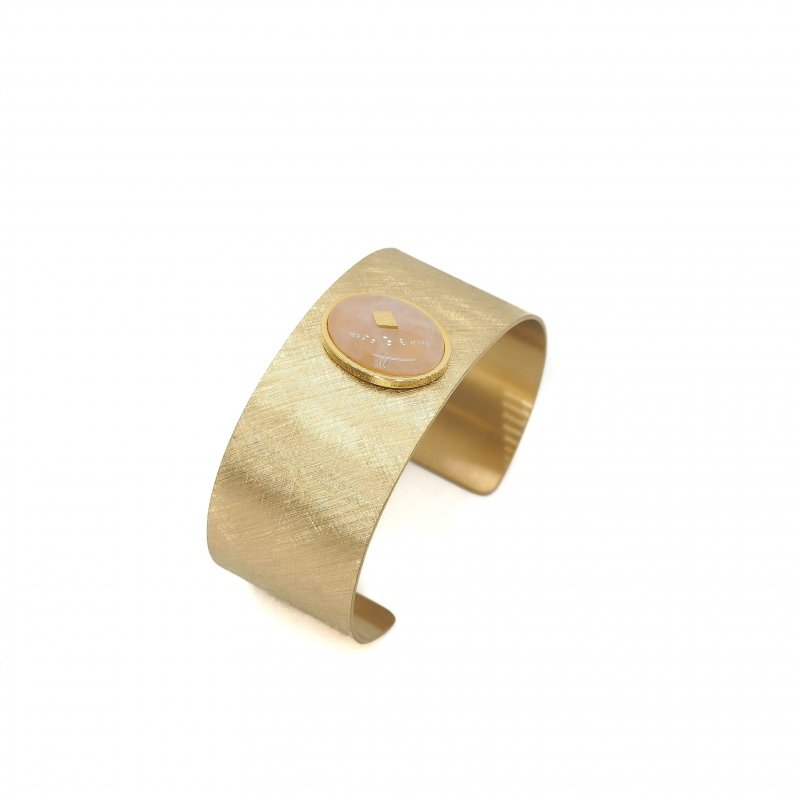 Gloria rose quartz gold...