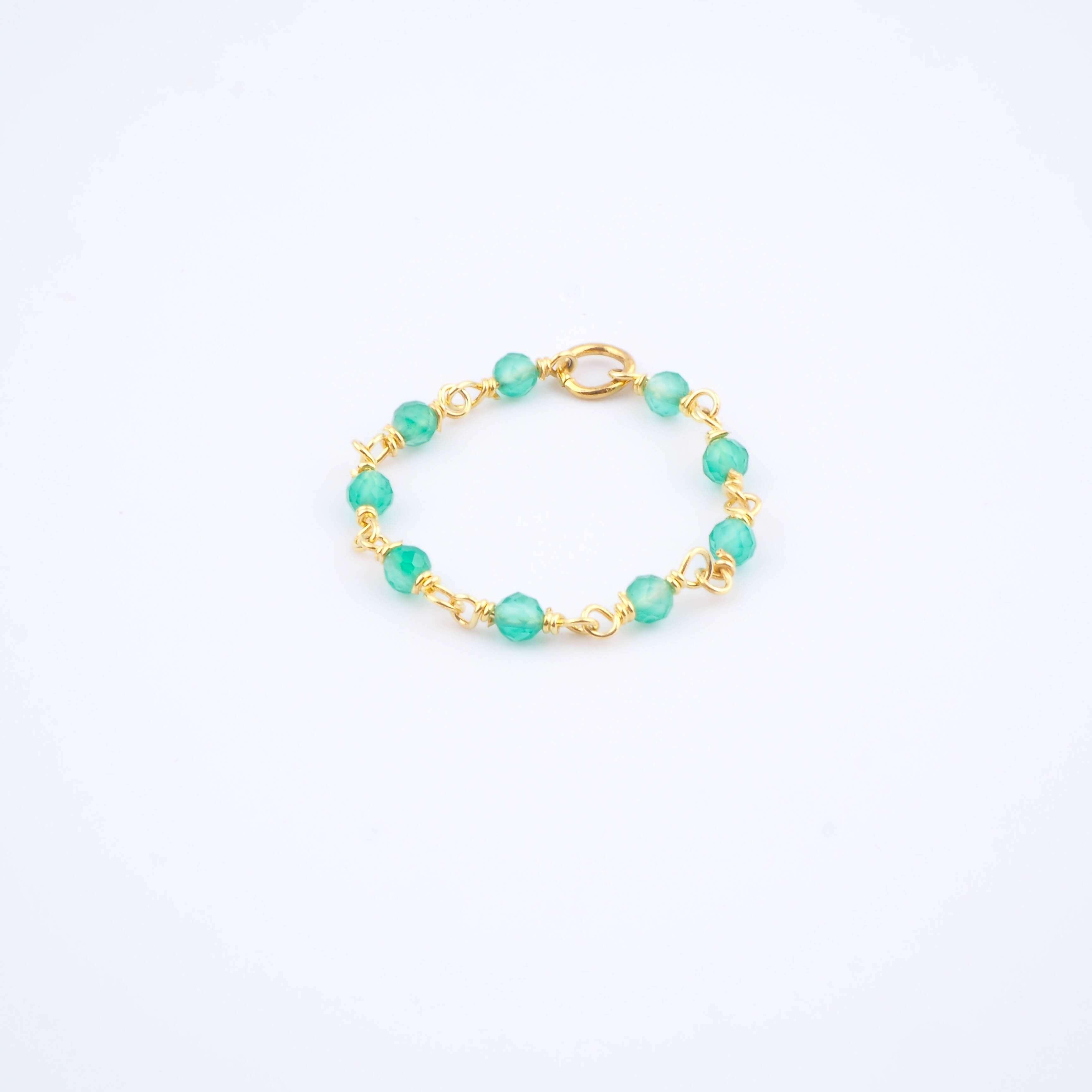 Bague Lya verte - Ginandger bijoux