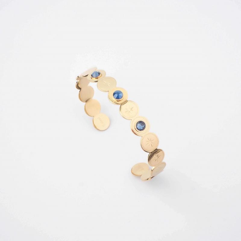 Bracelet jonc Adréline bleu...