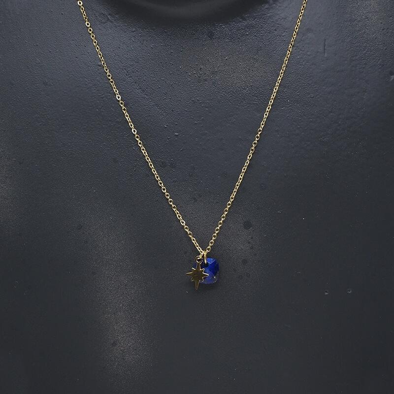 Stone polar blue gold...