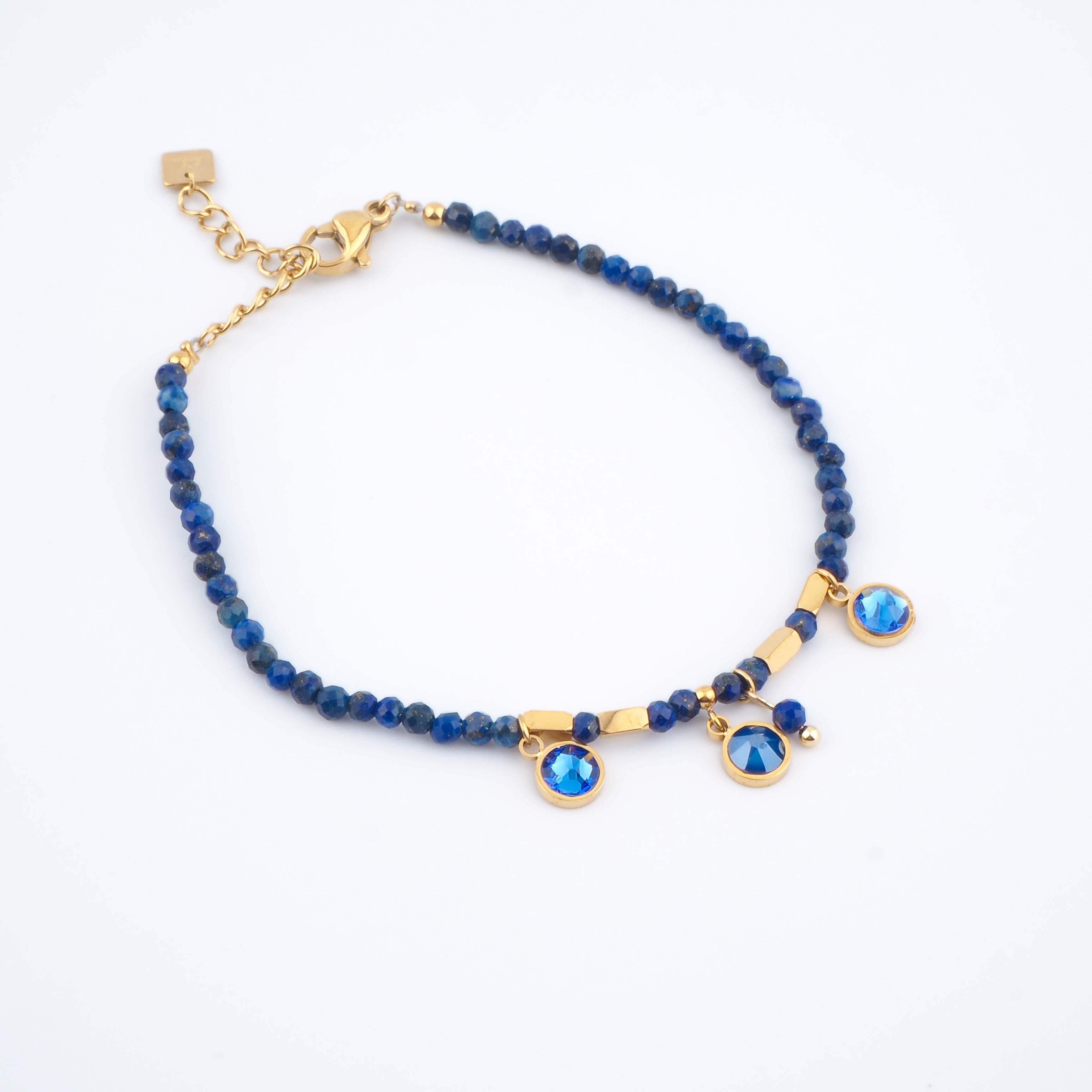 Bracelet Margaux bleu - Bohm Paris