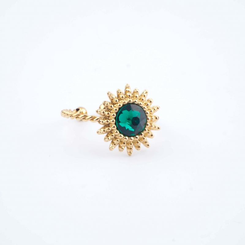 Bague Josie verte - Bohm Paris