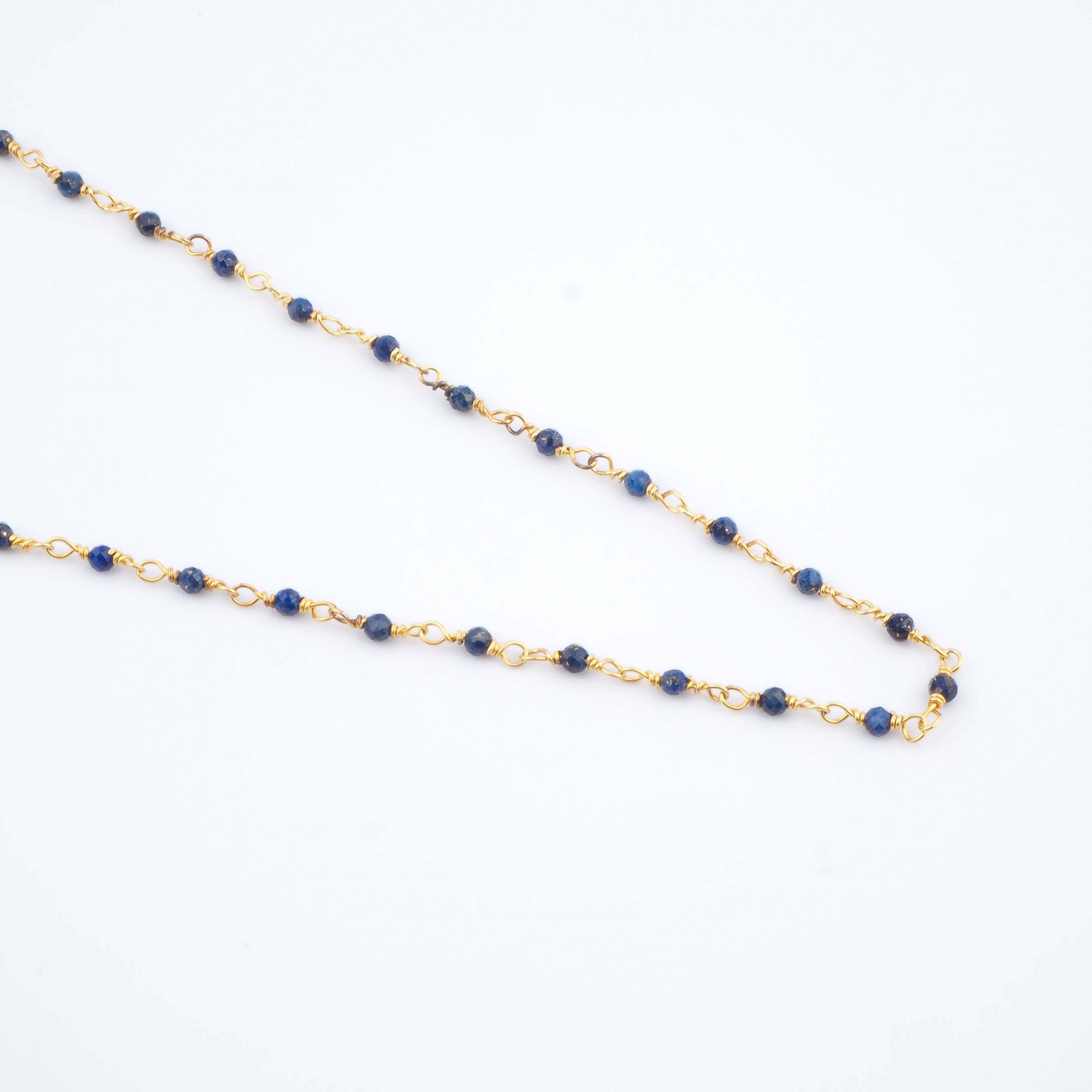 Collier Aude bleu - Ginandger Bijoux