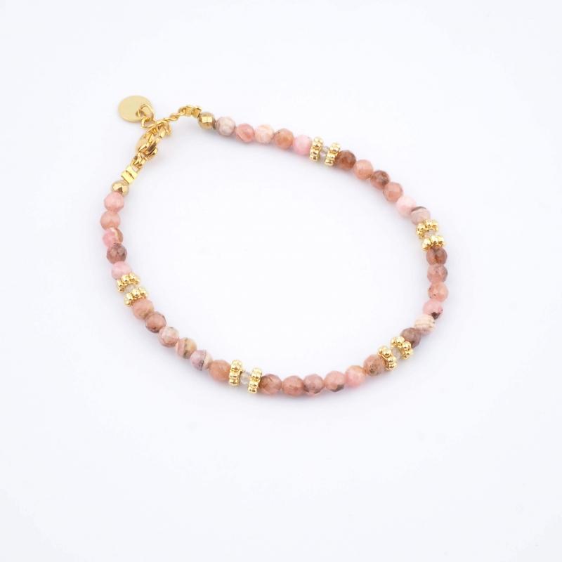 Bracelet Paola rose -...