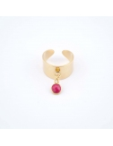 Bague Coco rouge -...