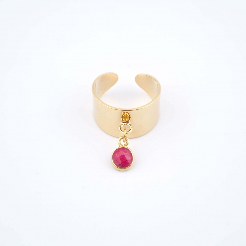 Red Coco Ring - Ginandger...