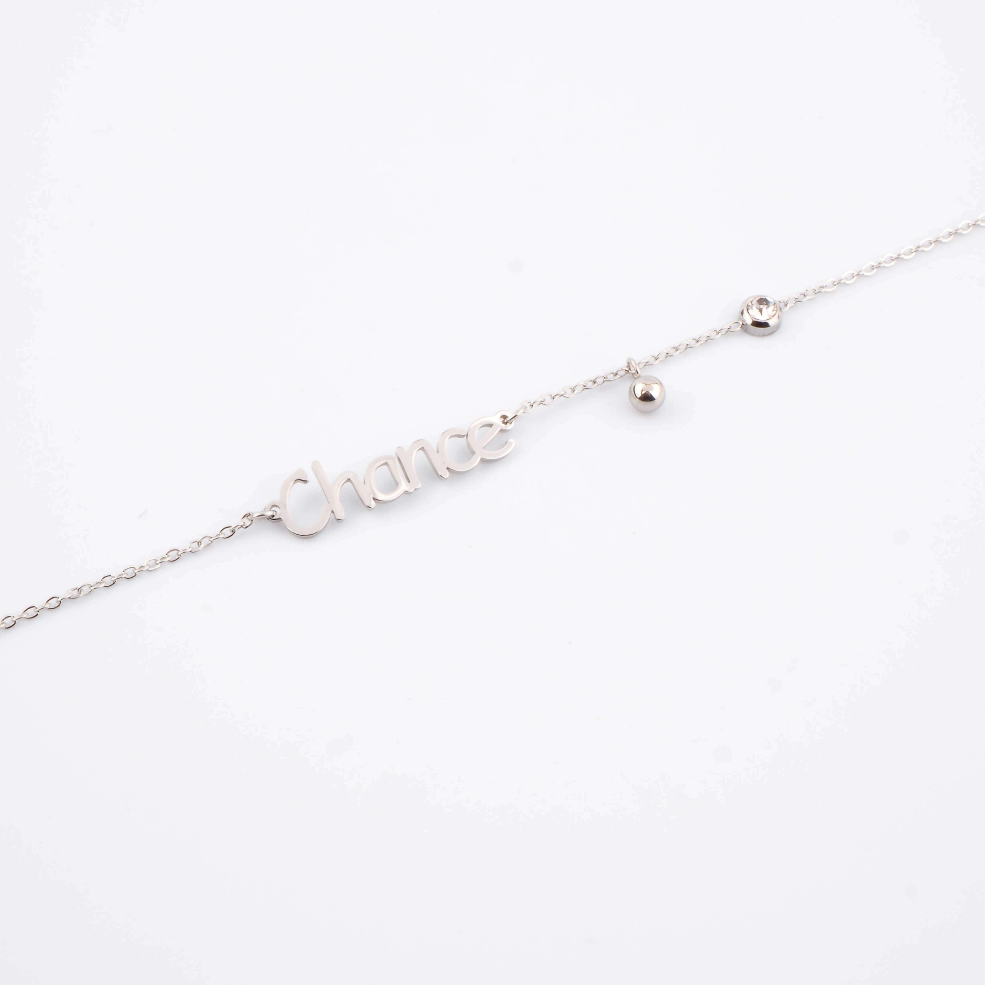 Bracelet Chance en acier - Zag Bijoux