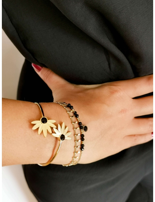 Bracelet Angeli noir - Bohm...