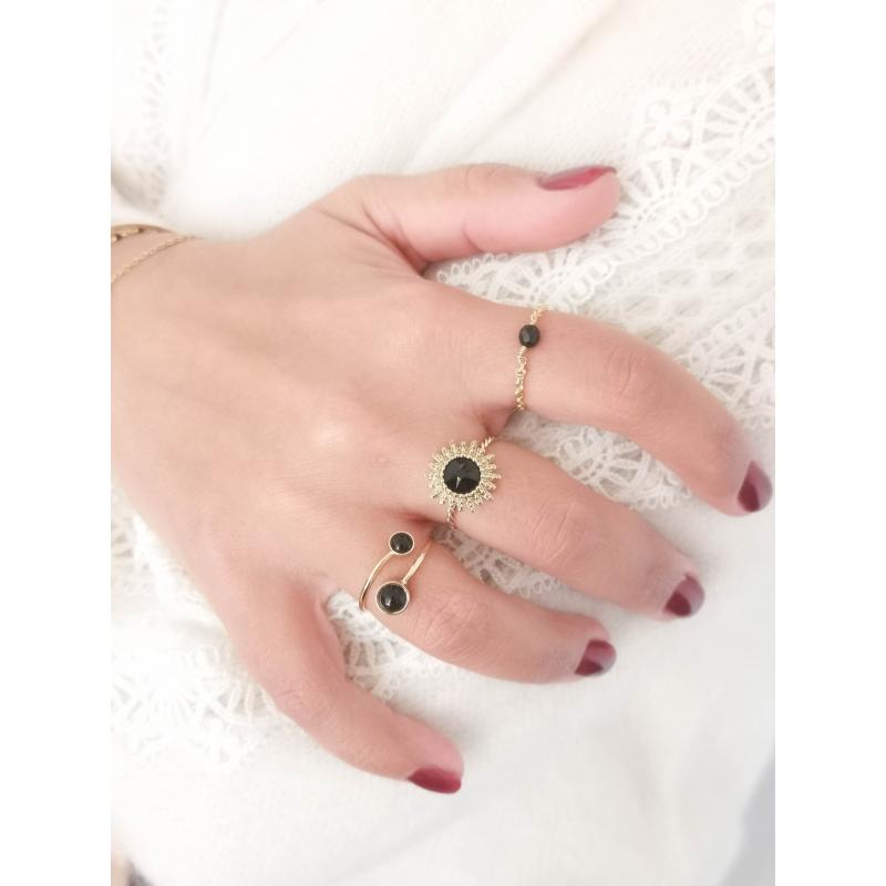 Black Josie Ring - Bohm Paris