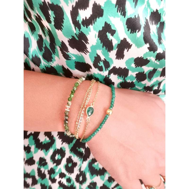 Bracelet Paola vert -...
