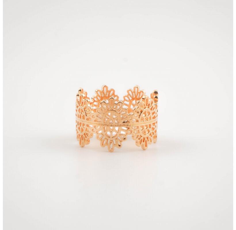 Bague couronne plaqué or - Pomme Cannelle - Pomme Cannelle