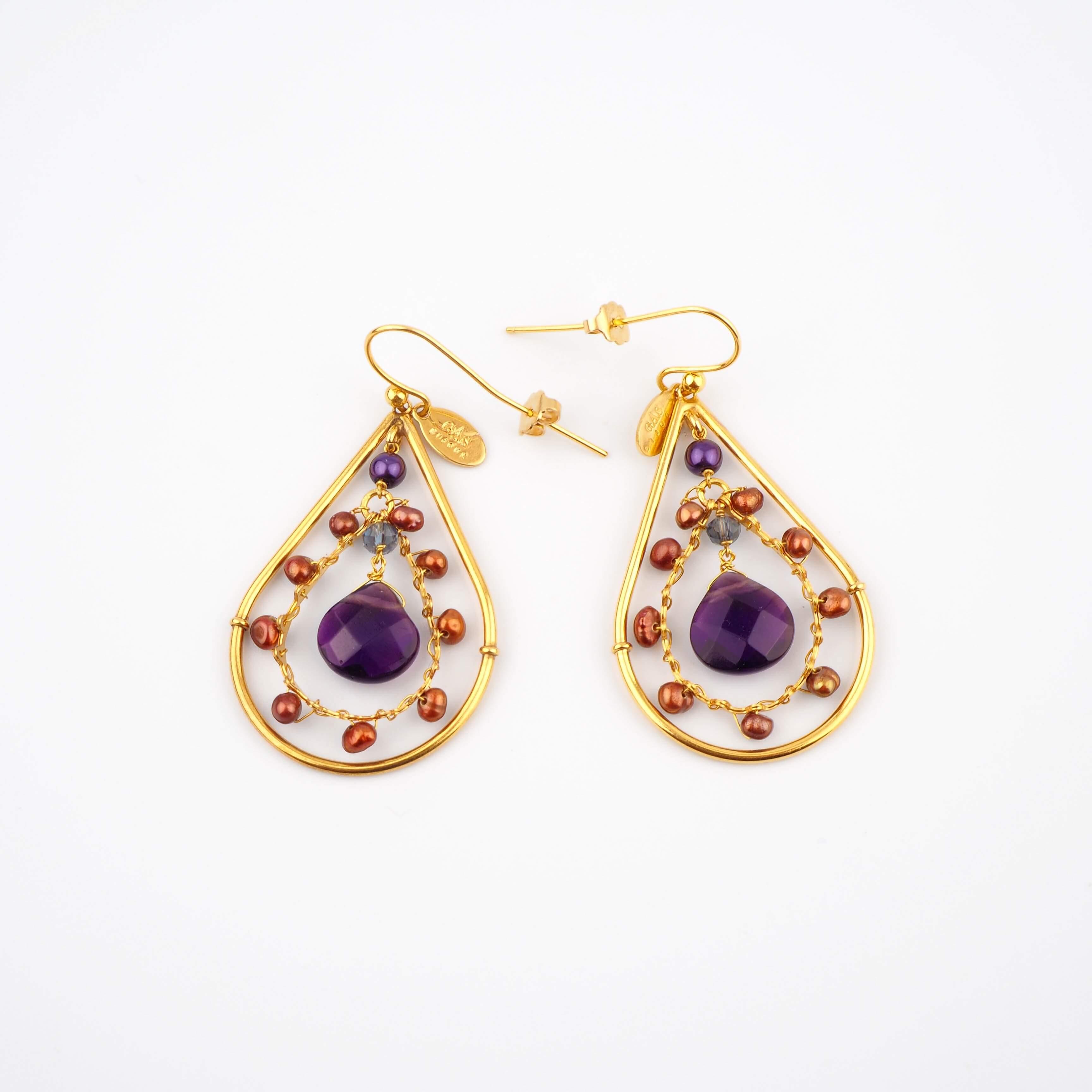 Boucles d'oreilles Orphée mini - Gas bijoux