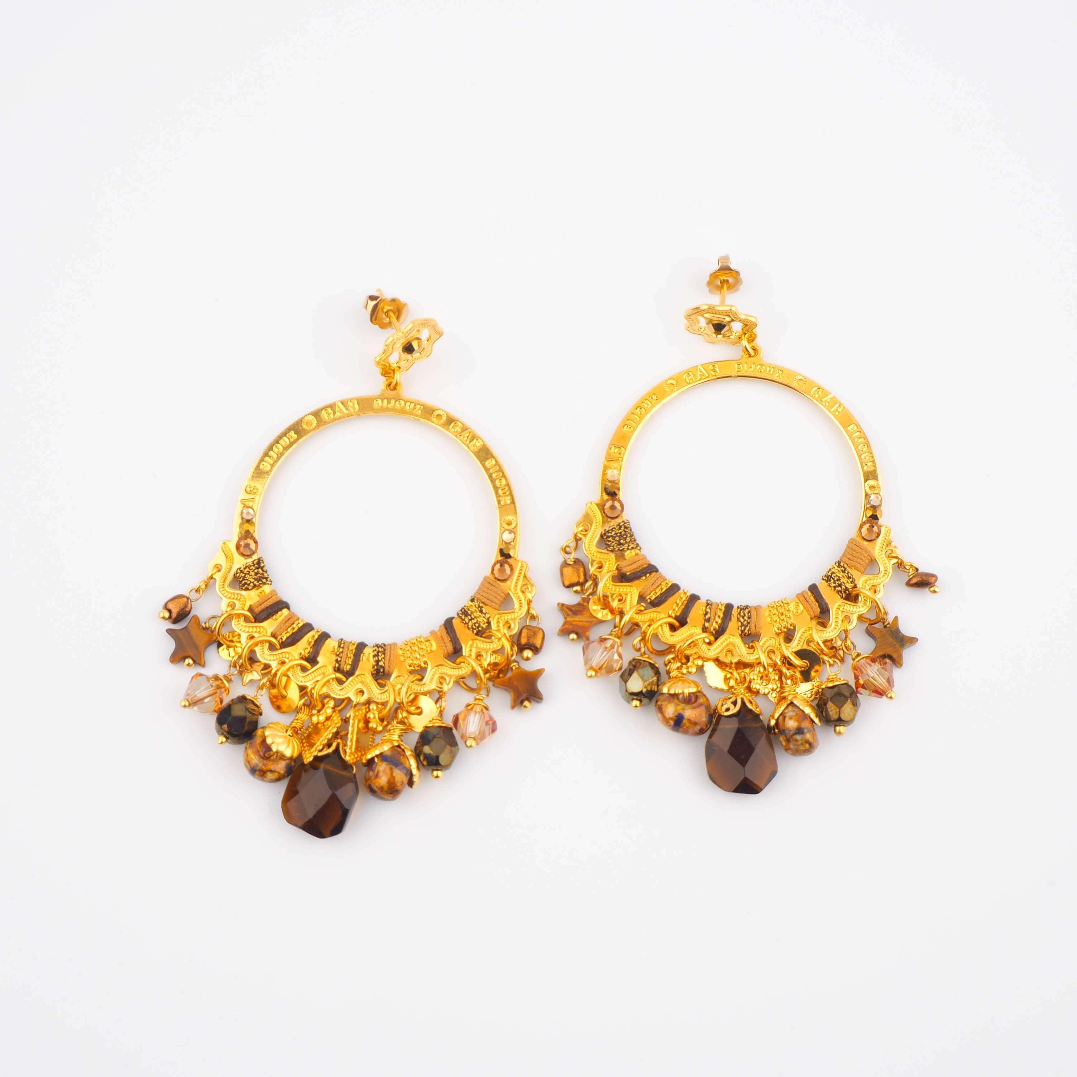 Boucles d'oreilles Cécile PM - Gas bijoux
