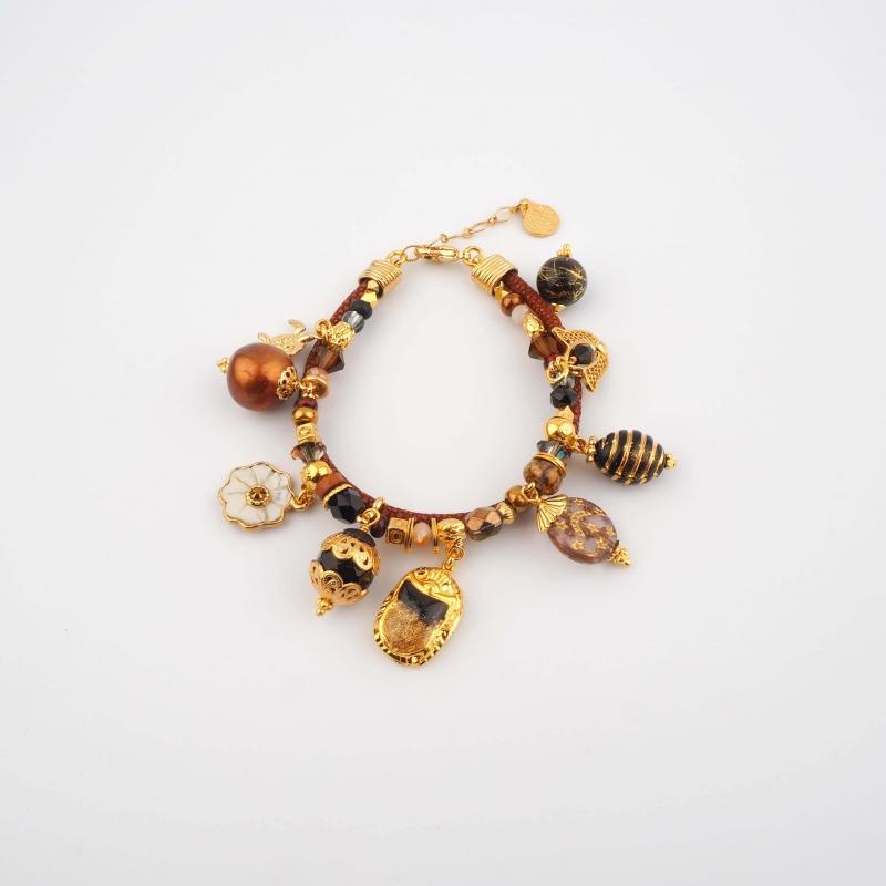 Comedia gold bracelet - Gas...