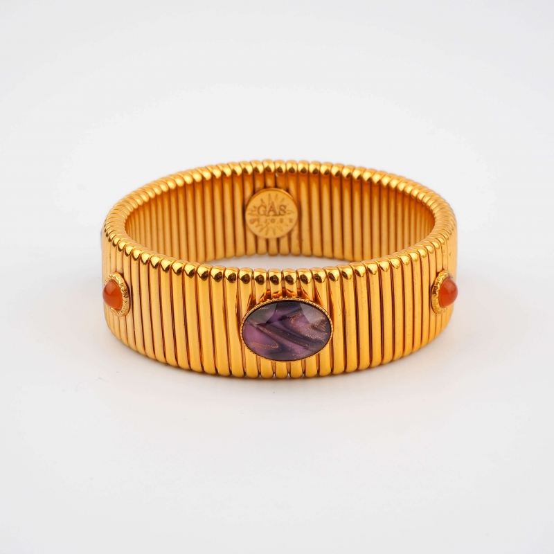 Strada medium gold bangle...