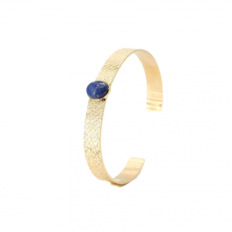 Stone blue bangle bracelet...