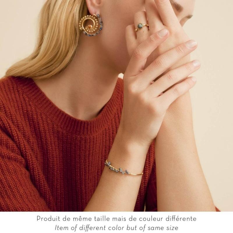 Calliope gold earrings -...