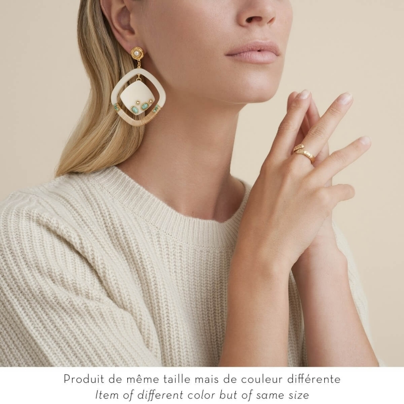 Boucles d'oreilles Aura -...