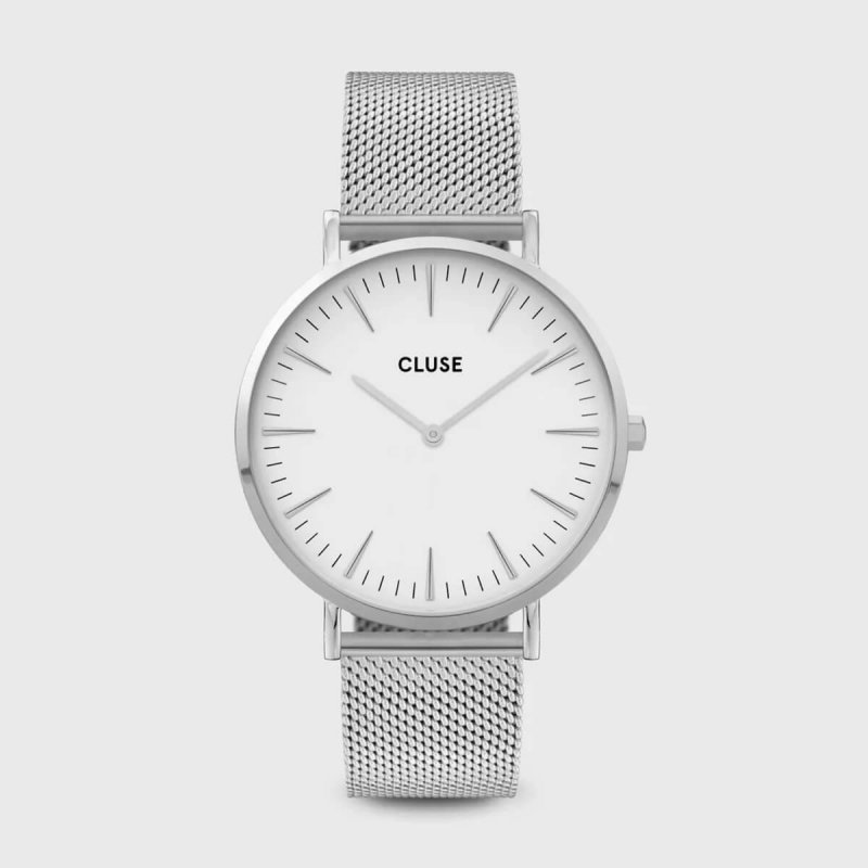 Montre Boho Chic mesh white...