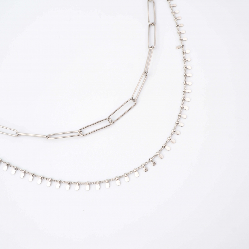 Tyana silver necklace - Zag...