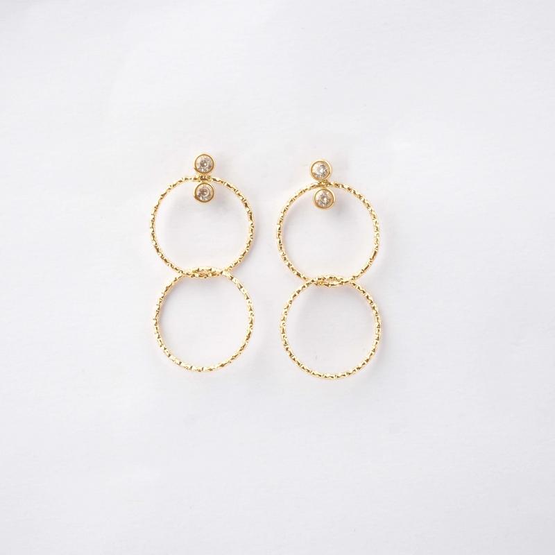 Eolia gold earrings - Zag...