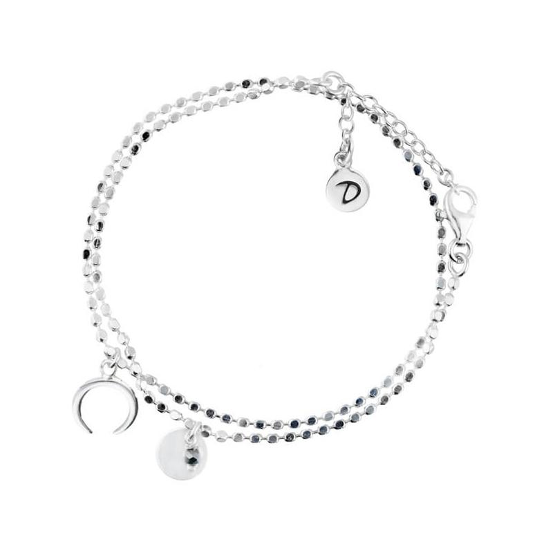 Bracelet double chaîne...
