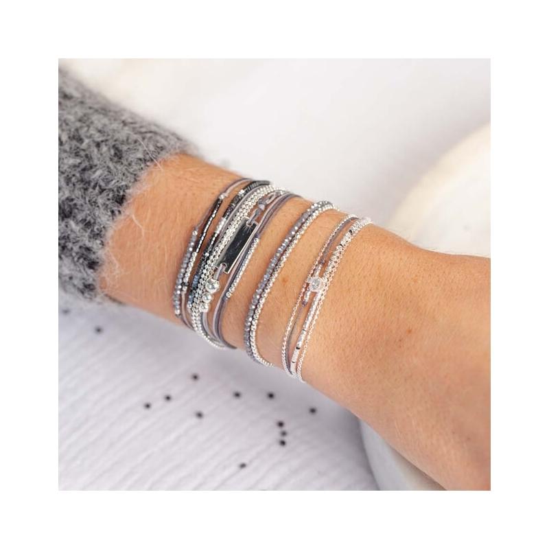 Bracelet Hamilton gris -...