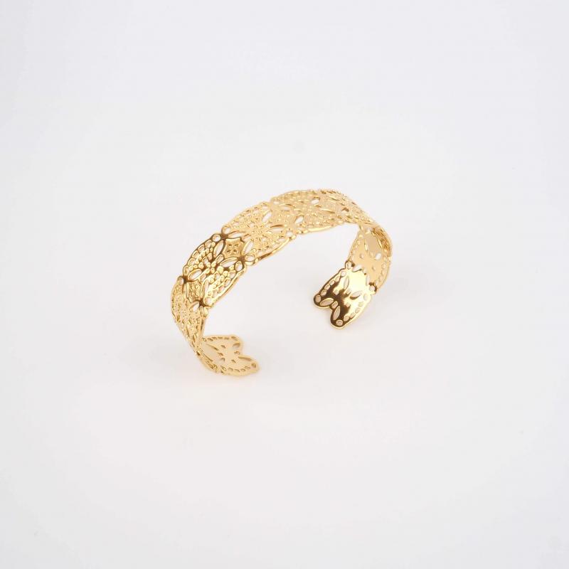 Jason gold cuff bracelet -...