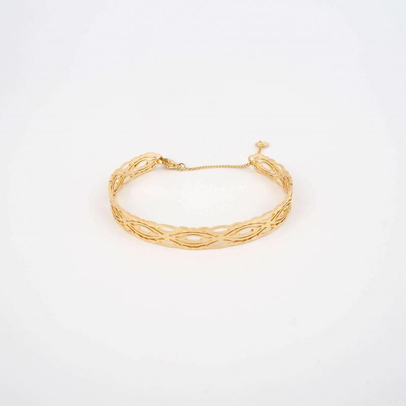 Handy gold bangle bracelet...