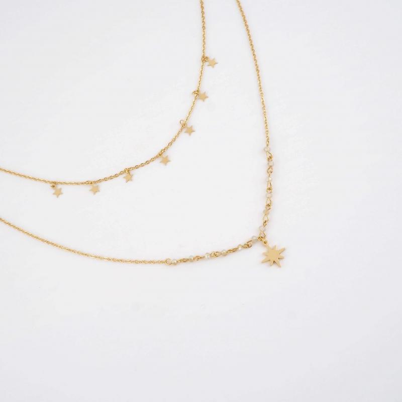 Hendy gold necklace -...