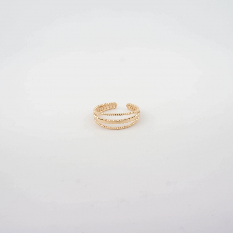 Armony gold ring - Pomme...
