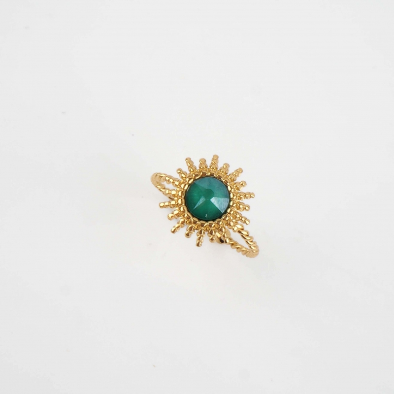 Bague Josie royal green en...