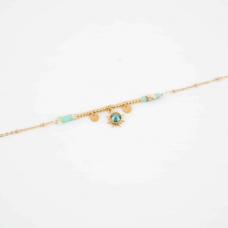 Bracelet Chloénis turquoise...