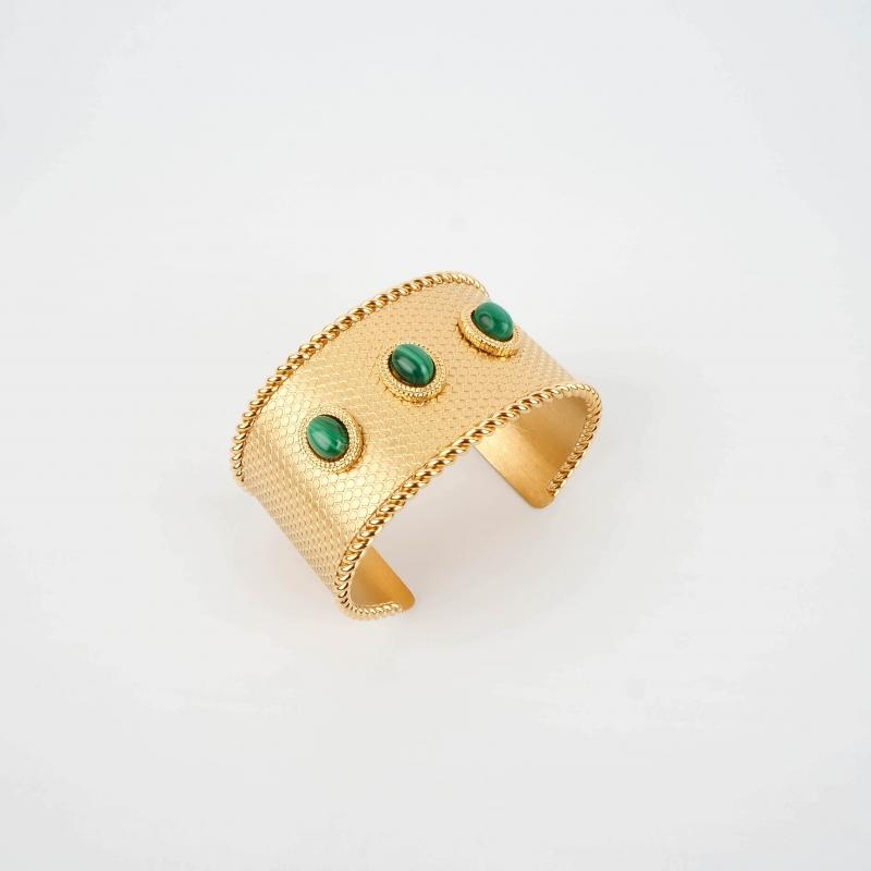 Darius gold cuff bracelet -...