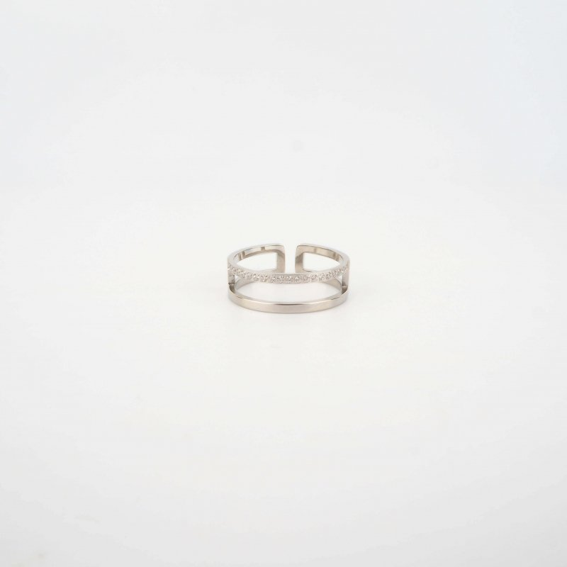 Alina silver ring - Zag Bijoux
