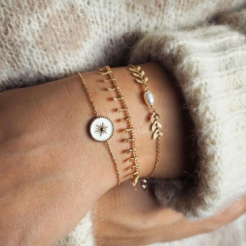 Bracelet épis perlé en...