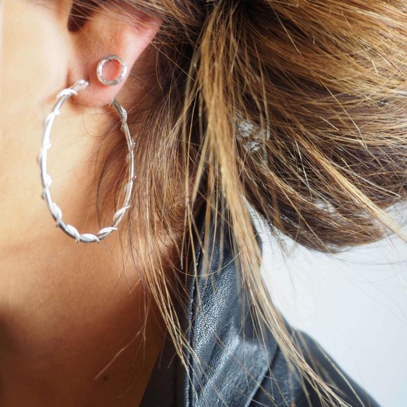 Boucles d'oreilles cercles...