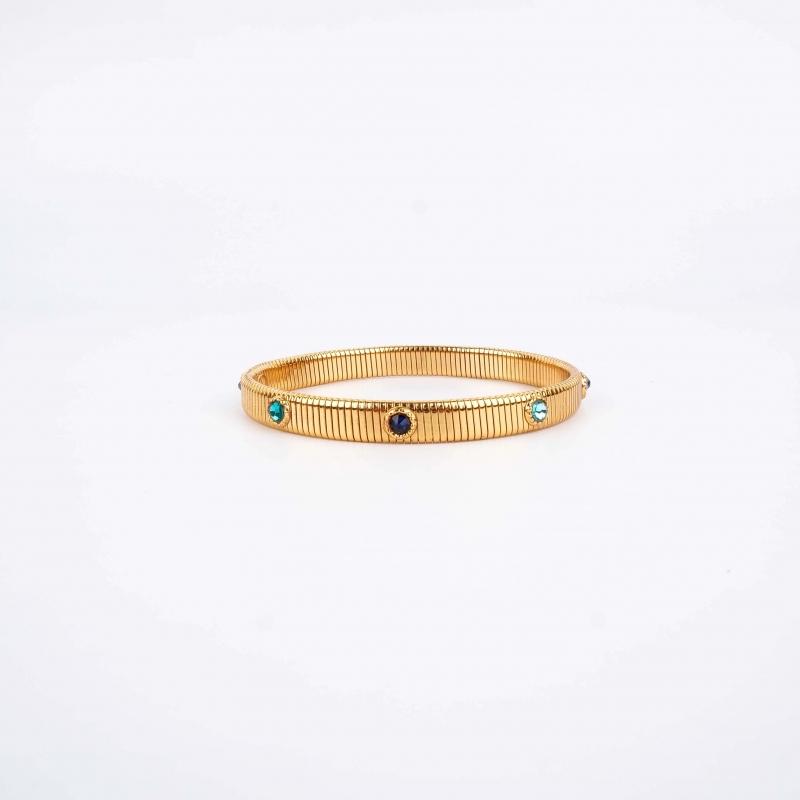 Bracelet jonc Stradi or -...