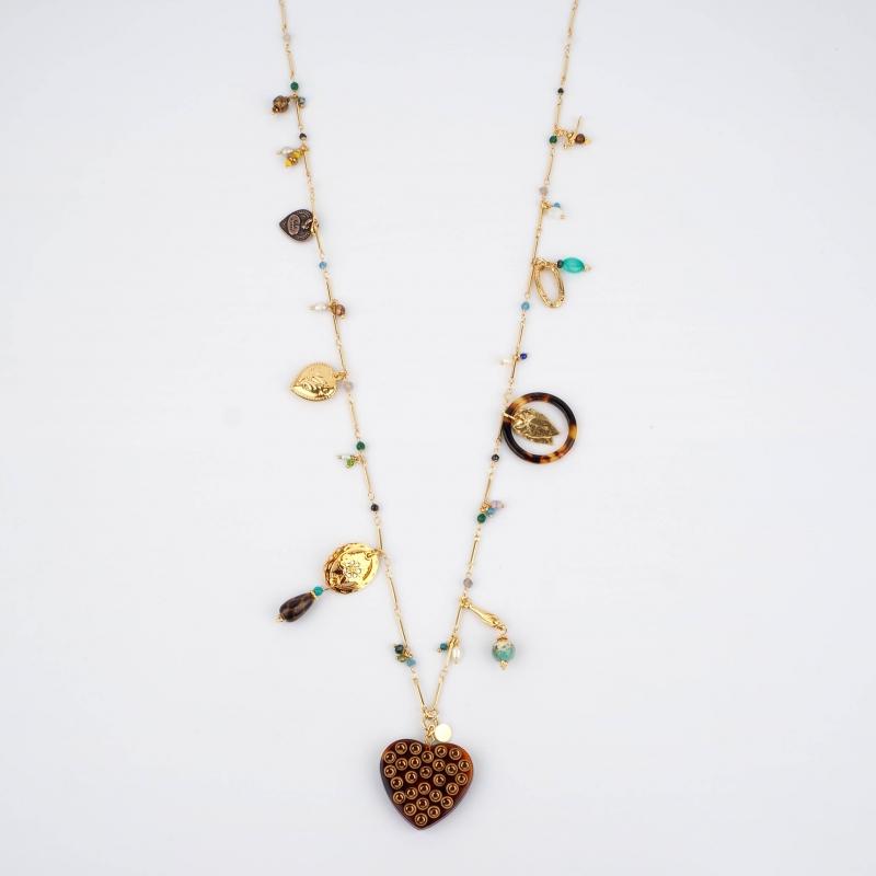 Sautoir Lovely or - Gas bijoux
